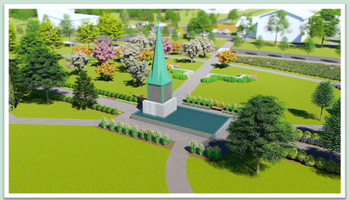 Sisters of St. Martha unveil plans for Bethany Centennial Garden